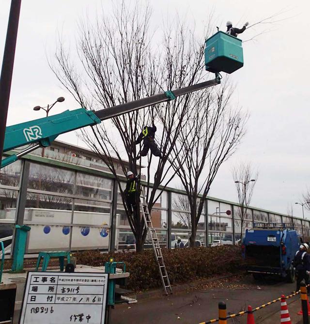 栗山造園 施工事例 平成25年度