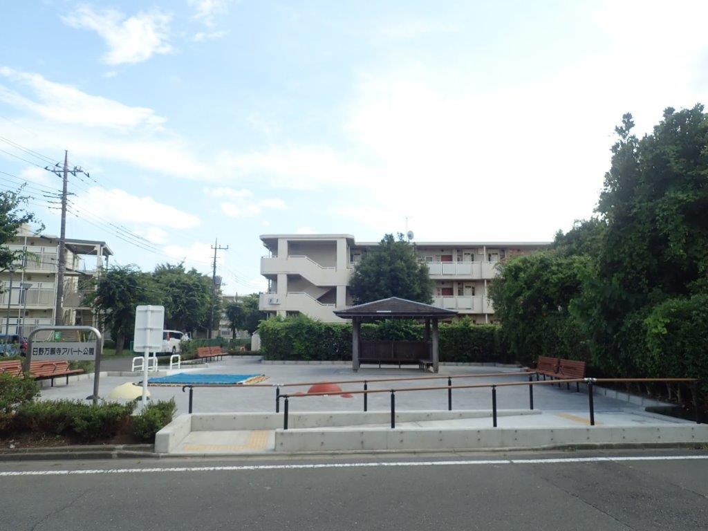 2021年8月 都営日野万願寺アパート遊園施設整備工事 完成 正面